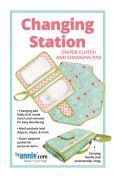 By Annie Sewing Pattern Changing Station Clutch