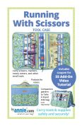 By Annie Sewing Pattern Running with Scissors Case