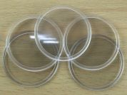 Round Blank Coasters  Clear