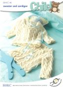 UKHKA Baby Sweater & Cardigan Knitting Pattern No 46