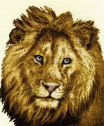 DMC Heart of a Lion Counted Cross Stitch Kit