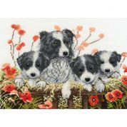 DMC Happy Families Counted Cross Stitch Kit