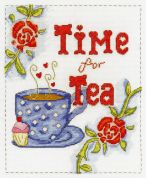 DMC Time for Tea Counted Cross Stitch Kit