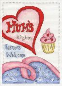 DMC Mums Kitchen Counted Cross Stitch Kit