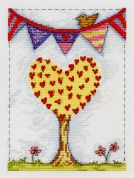 DMC Family Tree Counted Cross Stitch Kit