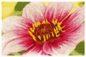 DMC Pink Dahlia Counted Cross Stitch Kit