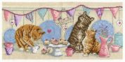 DMC Tea Time Counted Cross Stitch Kit
