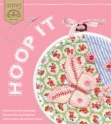 DMC Hoop It Embroidery Kit Vintage Rose