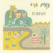 DMC Baby Bus Stop Counted Cross Stitch Kit