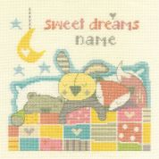 DMC Sweet Dreams   Counted Cross Stitch Kit