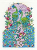 DMC Peacocks Counted Cross Stitch Kit