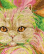 DMC Persian Counted Cross Stitch Kit