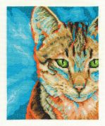 DMC Tabby Counted Cross Stitch Kit