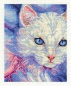 DMC Turkish Angora Counted Cross Stitch Kit