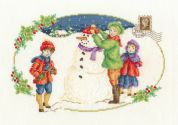 DMC Building a Snowman Counted Cross Stitch Kit