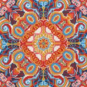 DMC Floral Illusion Counted Cross Stitch Kit