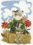 DMC Feeding Time Counted Cross Stitch Kit