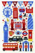 DMC London Attractions Counted Cross Stitch Kit