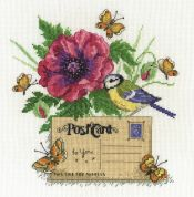 DMC Bluetit Counted Cross Stitch Kit