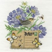 DMC Wren Counted Cross Stitch Kit