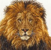 DMC Lions Pride Counted Cross Stitch Kit