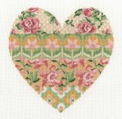 DMC Floral Arrangement Counted Cross Stitch Kit