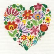 DMC Bouquet of Love Counted Cross Stitch Kit