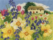 DMC Spring Bloom Counted Cross Stitch Kit