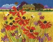 DMC Autumn Pasture Counted Cross Stitch Kit