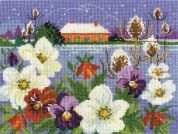 DMC Winter Garden Counted Cross Stitch Kit