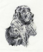 DMC Cocker Spaniel Counted Cross Stitch Kit