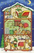 DMC Reindeer Barn Counted Cross Stitch Kit