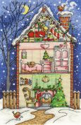 DMC Christmas at Home Counted Cross Stitch Kit