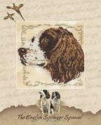 DMC The English Springer Spaniel Counted Cross Stitch Kit
