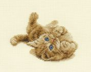 DMC Kitten Playing Counted Cross Stitch Kit