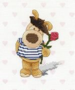 DMC Je taime Boofle Counted Cross Stitch Kit