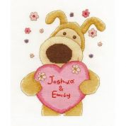 DMC Boofle with Love Counted Cross Stitch Kit