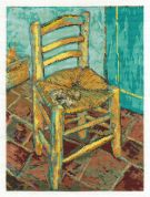 DMC Van Goghs Chair Counted Cross Stitch Kit