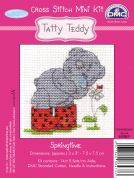 DMC Me to You Tatty Ted Springtime Counted Cross Stitch Kit