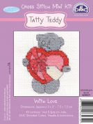 DMC Me to You Tatty Ted With Love Counted Cross Stitch Kit