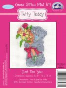 DMC Me to You Tatty Ted Just for You Counted Cross Stitch Kit