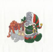 DMC Delivering Christmas Gifts Counted Cross Stitch Kit