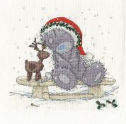 DMC Friends in the Snow Counted Cross Stitch Kit