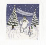 DMC Merry Christmas Counted Cross Stitch Kit