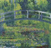 DMC The WaterLily Pond Counted Cross Stitch Kit