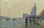 DMC The Thames below Westminster Counted Cross Stitch Kit