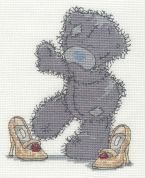 DMC Mums Shoes Counted Cross Stitch Kit