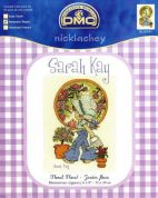 DMC Sarah Kay Floral Floral Counted Cross Stitch Kit