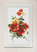Luca-S Counted Cross Stitch Kit Wild Pansies