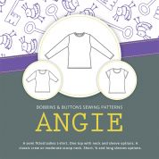 Bobbins & Buttons Sewing Pattern Angie T Shirt